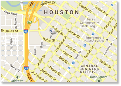 Map 77002.Pse Company Houston Office Directions