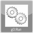 gO:RUN logo