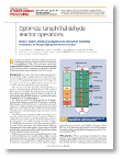 Optimize terephthaldehyde reactor operations