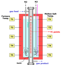 TPAL Multitubular reactor